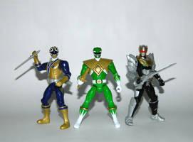Legendary Sixth Rangers - Battle Ready by LinearRanger