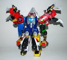 Super Mega Ultimate Q Rex Megazord by LinearRanger
