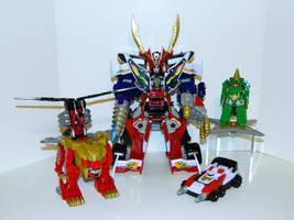 Super Megaforce Zord Arsenal by LinearRanger