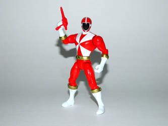 Red Lightspeed Rescue Ranger Action Hero by LinearRanger