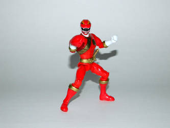 Red Wild Force Ranger Action Hero by LinearRanger