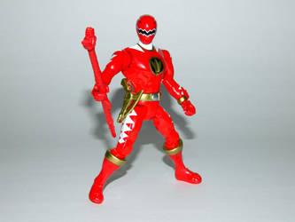 Red Dino Thunder Ranger Action Hero by LinearRanger