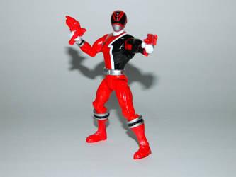 Red S.P.D. Ranger Action Hero by LinearRanger