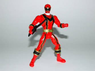 Red Mystic Force Ranger Action Hero by LinearRanger