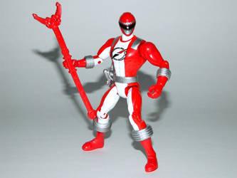 Red Operation Overdrive Ranger Action Hero by LinearRanger