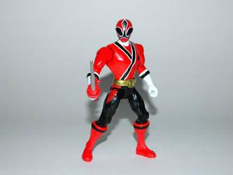 Red Samurai Ranger Action Hero by LinearRanger