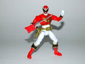Red Megaforce Ranger Action Hero by LinearRanger