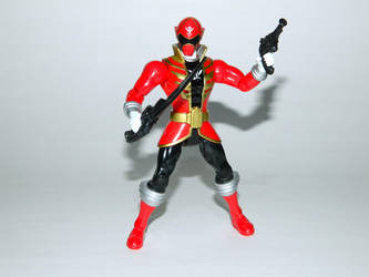 Red Super Megaforce Ranger Action Hero by LinearRanger