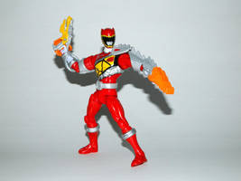Armored Dino Charge Red 15 by LinearRanger