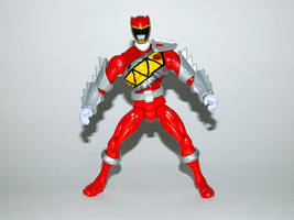 Armored Dino Charge Red 14 by LinearRanger