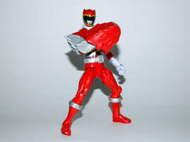 Armored Dino Charge Red 13 by LinearRanger