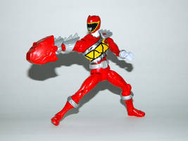 Armored Dino Charge Red 12 by LinearRanger