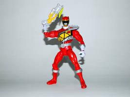 Armored Dino Charge Red 11 by LinearRanger