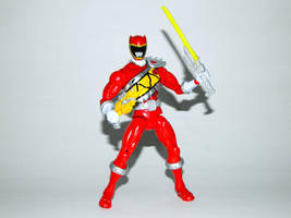Armored Dino Charge Red 8 by LinearRanger