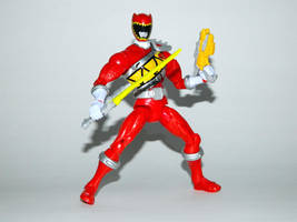 Armored Dino Charge Red 7 by LinearRanger