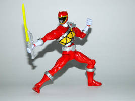 Armored Dino Charge Red 6 by LinearRanger
