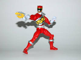 Armored Dino Charge Red 5 by LinearRanger