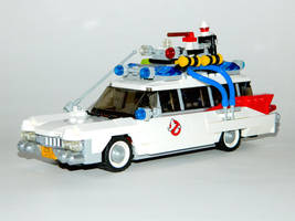 Lego Ecto-1 by LinearRanger