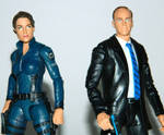 Agents Hill and Coulson 1 by LinearRanger