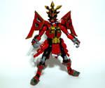 Samurai Shogun Mode Red 4 by LinearRanger