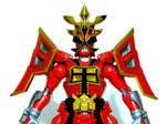 Samurai Shogun Mode Red 3 by LinearRanger