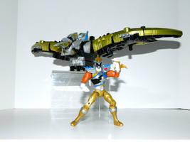 Pteranodon Power Ranger Gold by LinearRanger