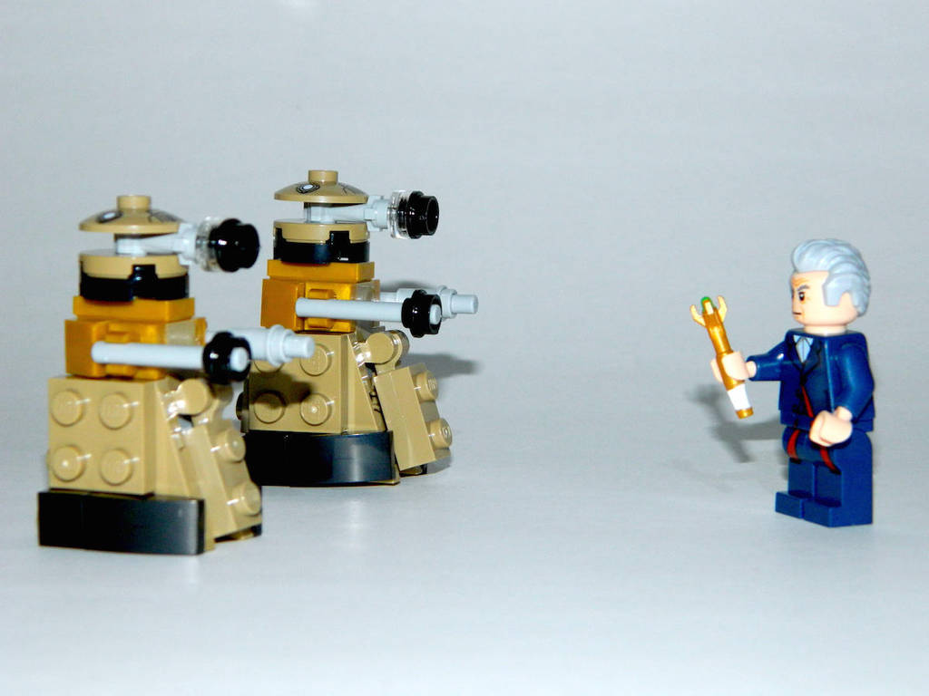 The Doctor vs The Daleks by LinearRanger