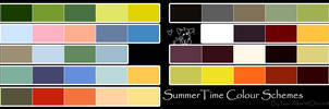 Free To Use Colour Schemes: Summer Time by Nai-Alei