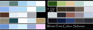 Free To Use Colour Schemes: Winter Time by Nai-Alei