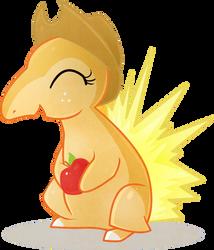 Ponymon Starters - Applequil by EllisArts