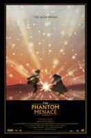 THE PHANTOM MENACE Movie Poster by Alistair-Rhythm