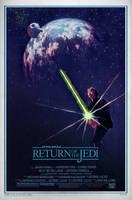 RETURN OF THE JEDI Poster by Alistair-Rhythm