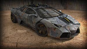 Lamborghini Reventon Custom Nuclear Edition by vladimirpetkovic