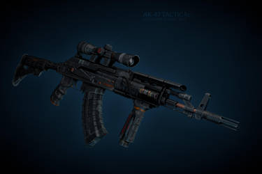 Ak-47 by vladimirpetkovic
