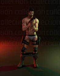 Daemon Collection Tumblr - Naked Chris! by DaemonCollection
