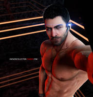 Chris Redfield Selfie by DaemonCollection