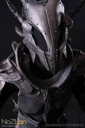 Daedric armour closeup - skyrim by talkenia
