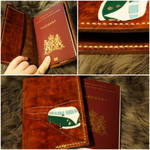 Leather passport cover with VW van by talkenia
