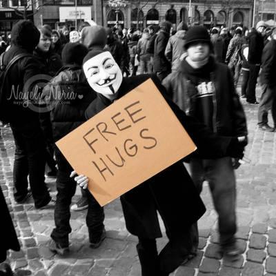 Anti ACTA Free Hugs by NayeliNeria