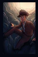 The Adventurer by Cerebrobullet-art