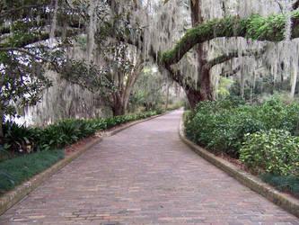 Pathway in Maclay Garden 2 by regoodstuff