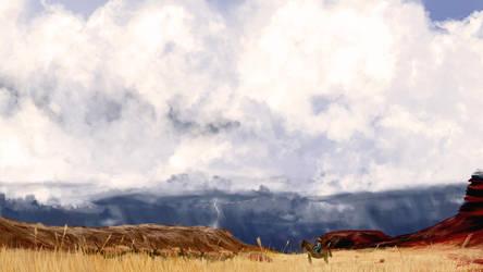 Storm's comin'... by ValencyGraphics