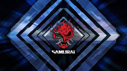 Cyberpunk 2077 Samurai Poster 4K Wallpaper by ValencyGraphics