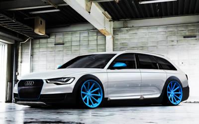 Audi A6 avant 2011 by Marko0811