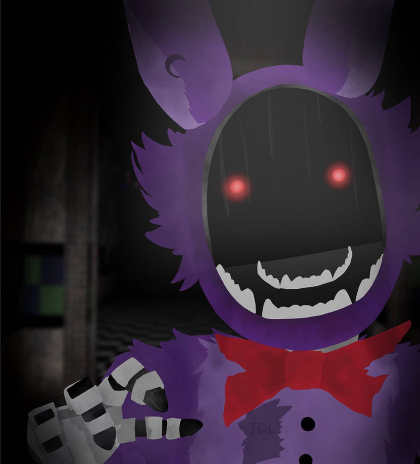 Withered Bonnie  by HDtheTVhead