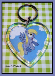 MLP: Derpy Hooves 01 Keychain by ObjectionSoS