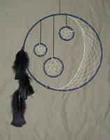 Grandmother Moon by hyenacub