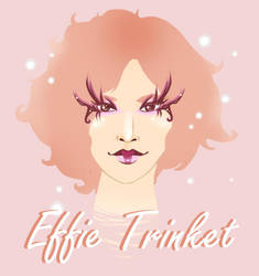 Effie Trinket by toffee-owl
