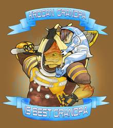 Krogan Grandpa by The-Itchy-Bird