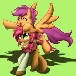 Scootalbert and Franzseed by geraritydevillefort